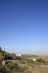 Israel, Shephelah, Neve Shalom overlooking Ayalon Valley