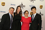 Paul Whylie - Emily Hughes - Sharon Cohen - Nathan Chen at Figure Skating in Harlem's Champions in Life (in its 21st year) Benefit Gala recognizing the medal-winning 2018 US Olympic Figure Skating Team on May 1, 2018 at Pier Sixty at Chelsea Piers, New York City, New York. (Photo by Sue Coflin/Max Photo)