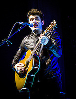 John Mayer performs at the Scottrade Center in St. Louis, Mo. on March 20, 2010 as part of his Battle Studies Tour.