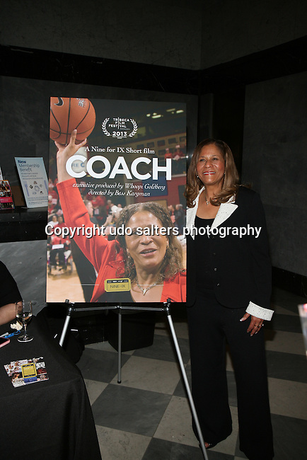 Rutgers University Women's Vivian Stringer Attends New York Special Screening of ESPN Films & espnW's VENUS VS. & COACH (Tribeca Film Festival 'Best Documentary Short' Award-Winner) Held at The Paley Center for Media