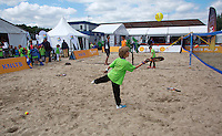 Netherlands, Rosmalen , June 08, 2015, Tennis, Topshelf Open, Autotron, Beachtennis at KNLTB <br /> Photo: Tennisimages/Henk Koster