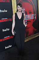 www.acepixs.com<br /> <br /> April 25 2017, LA<br /> <br /> Katie Aselton arriving at the premiere of  'The Handmaid's Tale' at the ArcLight Cinemas Cinerama Dome on April 25, 2017 in Hollywood, California.<br /> <br /> By Line: Peter West/ACE Pictures<br /> <br /> <br /> ACE Pictures Inc<br /> Tel: 6467670430<br /> Email: info@acepixs.com<br /> www.acepixs.com