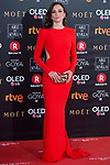 Leonor Watling attends red carpet of Goya Cinema Awards 2018 at Madrid Marriott Auditorium in Madrid , Spain. February 03, 2018. (ALTERPHOTOS/Borja B.Hojas)