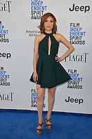 Eden Dranger at the 2017 Film Independent Spirit Awards on the beach in Santa Monica, CA, USA 25 February  2017<br /> Picture: Paul Smith/Featureflash/SilverHub 0208 004 5359 sales@silverhubmedia.com