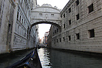 """According to legend the Bridge of Sighs, built in 1600 to link the Doge's Palace with the new prisons, takes its name from the lamentations of the prisoners as they made their way to offices of the State Inquisitors."" <br />