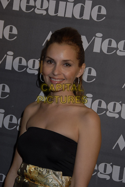 SHANI RIGSBEE.The 15th Annual Movieguide Faith and Values Awards held at the Beverly Wilshire Hotel, Beverly Hills, California, USA..February 20th, 2007.half length black strapless dress .CAP/ADM/GB.©Gary Boas/AdMedia/Capital Pictures
