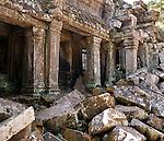 Ta Prohm Temple 04 - Ta Prohm Temple, Angkor, Cambodia