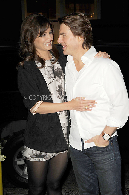 WWW.ACEPIXS.COM . . . . . .September 07, 2010, New York City....Tom Cruise and Katie Holmes attend the premiere of The Romantics on September 07, 2010 in New York City....Please byline: KRISTIN CALLAHAN - ACEPIXS.COM.. . . . . . ..Ace Pictures, Inc: ..tel: (212) 243 8787 or (646) 769 0430..e-mail: info@acepixs.com..web: http://www.acepixs.com .