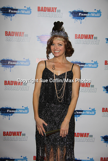 Anne Sayre (As The World Turns) attends The Times Square Broadway Royale on New Years Eve 2014 at the legendary Copacabana, New York City, New York. (Photo by Sue Coflin/Max Photos)