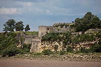 Europe/France/Aquitaine/33/Gironde/Blaye: La Citadelle de Blaye sur l'Estuaire de la Gironde - Patrimoine mondial UNESCO