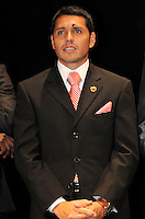 DC United midfielder Christian Gomez.   At the 6th Annual DC United Awards Presentation ,at the Atlas Performing Arts Center in Washington DC ,Wednesday October 27, 2009.