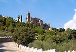 Sixteenth century church of Purisima Concepcion hilltop village of Zufre,  Sierra de Aracena, Huelva province, Spain