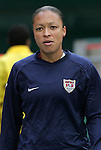 10 May 2008: Angela Hucles (USA). The United States Women's National Team defeated the Canada Women's National Team 6-0 at RFK Stadium in Washington, DC in a women's international friendly soccer match.