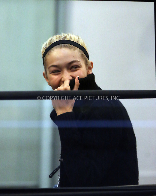 ACEPIXS.COM<br /> <br /> October 22 2014, New York City<br /> <br /> Gigi Hadid and Kendall Jenner went to Gotham Gym for a boxing workout on October 22 2014 in New York City<br /> <br /> By Line: Zelig Shaul/ACE Pictures<br /> <br /> ACE Pictures, Inc.<br /> www.acepixs.com<br /> Email: info@acepixs.com<br /> Tel: 646 769 0430