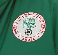 U17 Belgian Red Flames - Nigeria :<br /> <br /> Teamlogo Nigeria<br /> <br /> foto Dirk Vuylsteke / Nikonpro.be