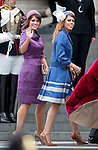 """PRINCESSES BEATRIVE AND EUGENIE - THANKSGIVING SERVICE.Members of the Royal Family attend a Thanksgiving Service at St Paul's Cathedral, London in celebration of the Queen's Diamond Jubilee_5th June 2012.Mandatory Credit Photo: ©A Linnett/NEWSPIX INTERNATIONAL..**ALL FEES PAYABLE TO: """"NEWSPIX INTERNATIONAL""""**..IMMEDIATE CONFIRMATION OF USAGE REQUIRED:.Newspix International, 31 Chinnery Hill, Bishop's Stortford, ENGLAND CM23 3PS.Tel:+441279 324672  ; Fax: +441279656877.Mobile:  07775681153.e-mail: info@newspixinternational.co.uk"""