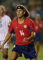 Joy Fawcett, USWNT vs. Costa Rica, September 1, 2003.