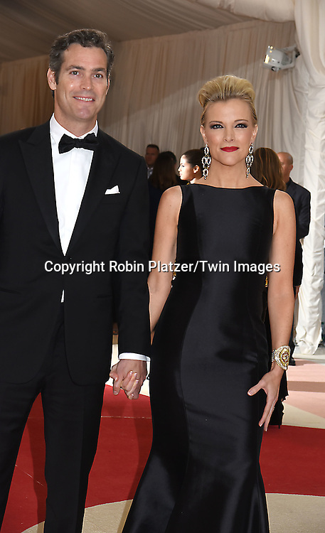 Megyn Kelly and husband Douglas Brunt attends the Metropolitan Museum of Art Costume Institute Benefit Gala on May 2, 2016 in New York, New York, USA. The show is Manus x Machina: Fashion in an Age of Technology. <br /> <br /> photo by Robin Platzer/Twin Images<br />  <br /> phone number 212-935-0770