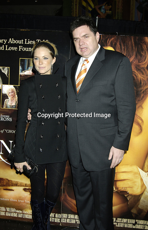 "Oliver Platt and Sienna Miller ..at a Special Screening of "" Casanova"" on December 11, 2005 at The Loews Lincoln Square Theatre. ..Photo by Robin Platzer, Twin Images"