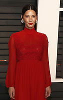 www.acepixs.com<br /> <br /> February 26 2017, LA<br /> <br /> Olivia Munn arriving at the Vanity Fair Oscar Party at the Wallis Annenberg Center for the Performing Arts on February 26 2017 in Beverly Hills, Los Angeles<br /> <br /> By Line: Famous/ACE Pictures<br /> <br /> <br /> ACE Pictures Inc<br /> Tel: 6467670430<br /> Email: info@acepixs.com<br /> www.acepixs.com