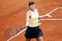Maria Sharapova, Russia, during Madrid Open Tennis 2018 match. May 9, 2018.(ALTERPHOTOS/Acero) /NortePhoto NORTEPHOTOMEXICO