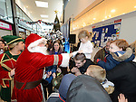 Santa arriving at Gorey Shopping Centre Co. Wexford 21-11-2015. Photo: Colin Bell/pressphotos.ie