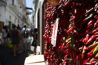 AMALFI NELLA FOTO PEPERONCINI GEOGRAFICO AMALFI 07/08/2014 FOTO MATTEO BIATTA<br /> <br /> AMALFI IN THE PICTURE PEPPERS GEOGRAPHIC AMALFI 07/08/2014 PHOTO BY MATTEO BIATTA