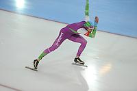 SCHAATSEN: GRONINGEN: Sportcentrum Kardinge, 17-01-2015, KPN NK Sprint, Aron Romeijn, ©foto Martin de Jong