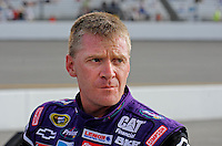 May 1, 2009; Richmond, VA, USA; NASCAR Sprint Cup Series driver Jeff Burton during qualifying for the Russ Friedman 400 at the Richmond International Raceway. Mandatory Credit: Mark J. Rebilas-