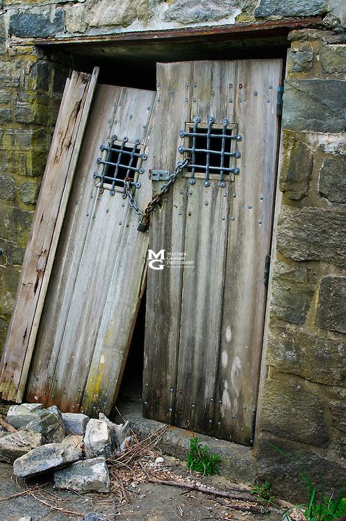 Abandoned entrance to?