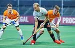 AMSTELVEEN - Billy Bakker (Adam)   tijdens de play-offs hoofdklasse  heren , Amsterdam-Bloemendaal (0-2).    COPYRIGHT KOEN SUYK