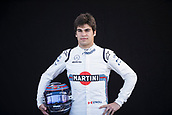 22nd March 2018, Melbourne Grand Prix Circuit, Melbourne, Australia; Melbourne Formula One Grand Prix, Arrivals and Press Conference; The number 18 Williams Martini driver Lance Stroll
