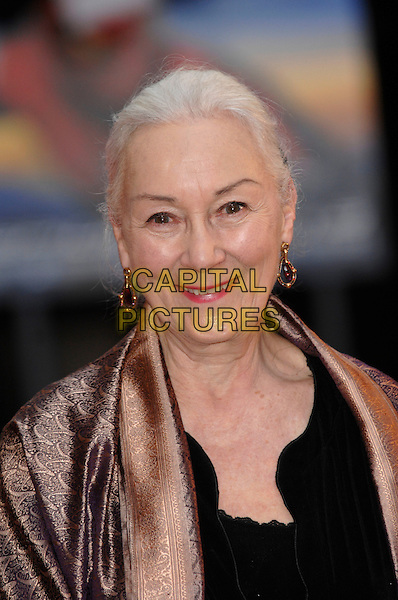 "ROSEMARY HARRIS.""Spider-Man 3"" UK film premiere at.Odeon cinema, Leicester Square.23rd April 2007 London, England.CAP/PL.spiderman portrait headshot.©Phil Loftus/Capital Pictures."