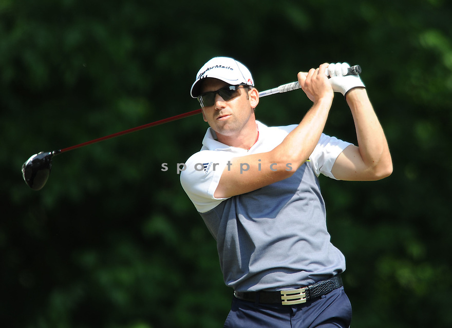 SERGIO GARCIA, during the first round of the Quail Hollow Championship, on April 30, 2009 in Charlotte, NC.