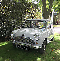 BNPS.co.uk (01202 558833)<br /> Pic: JimMorrison/BNPS<br /> <br /> A vintage Mini that belonged to Christine Keeler during the height of the Profumo scandal has emerged for sale for £20,500.<br /> <br /> The 1961 classic belonged to the model in the early 1960s when she became romantically involved with married government minister, John Profumo.<br /> <br /> At the same time she was also having an affair with a Soviet naval officer Yevgeny Ivanov, leading to a dramatic shoot-out between the two lovers.<br /> <br /> The scandal caused outrage out the time and has recently been adapted into the BBC drama The Trial of Christine Keeler.