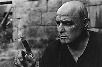 Apocalypse Now (1979)<br /> Promo shot of Marlon Brando<br /> *Filmstill - Editorial Use Only*<br /> CAP/KFS<br /> Image supplied by Capital Pictures