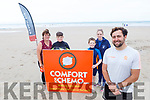 Launching the Sean O'Connor fitness programme in Banna Beach which is a fundraiser for Comfort for Chemo which will be held on Banna Beach on July 4th. <br /> Front right:  Sean O'Connor.<br /> Back l to r: Brenda, David, Sean and Nicole O'Connor.