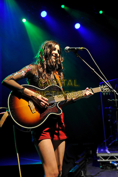 LONDON, ENGLAND - FEBRUARY 14: C&aacute;ra Beard of 'Darline' performing for 'War Child' at Shepherd's Bush Empire on February 14, 2017 in London, England.<br /> CAP/MAR<br /> &copy;MAR/Capital Pictures