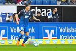 Hoffenheims Nico Schulz (Nr.16) am Ball beim Spiel in der Fussball Bundesliga, TSG 1899 Hoffenheim - VfL Wolfsburg.<br /> <br /> Foto &copy; PIX-Sportfotos *** Foto ist honorarpflichtig! *** Auf Anfrage in hoeherer Qualitaet/Aufloesung. Belegexemplar erbeten. Veroeffentlichung ausschliesslich fuer journalistisch-publizistische Zwecke. For editorial use only.