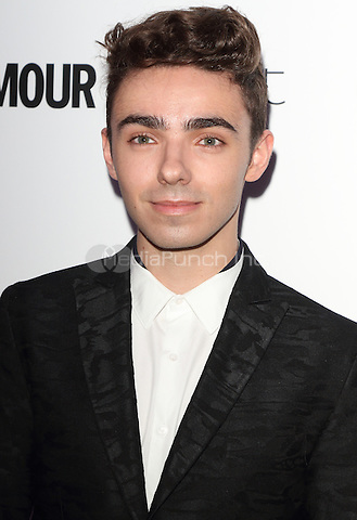 Nathan Sykes at The Glamour Awards 2016 at Berkeley Square Gardens London on June 7th 2016<br /> CAP/ROS<br /> &copy;Steve Ross/Capital Pictures /MediaPunch ***NORTH AND SOUTH AMERICAS ONLY***
