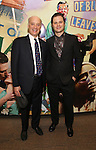 Frank Wood and Michael Oberholtzer attends the press reception for the Opening Night of the Lincoln Center Theater Production of 'The Babylon Line'  at the Mitzi E. Newhouse Theatre on December 5, 2016 in New York City.