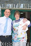 BAPTISED: Saoirse O'Shea from Chutehall, Ballymacelligott who was baptised on Sunday in St Bendan's Church, Cloghers Ballymacelligott,whith her parents Patrick and Mary O'Shea after her christening at O' Riadas Bar & Restaurant,..
