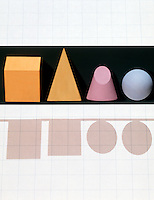 GEOMETRIC SOLIDS &amp; SHADOWS<br />