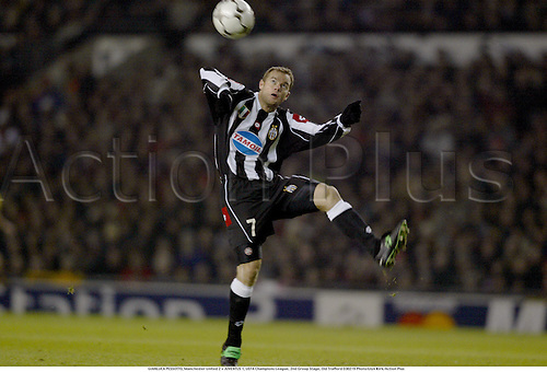 GIANLUCA PESSOTTO, Manchester United 2 v JUVENTUS 1, UEFA Champions League, 2nd Group Stage, Old Trafford 030219 Photo:Glyn Kirk/Action Plus<br />