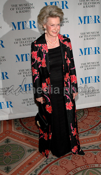 26 May 2005 - New York, New York - Dina Merrill arrives at The Museum of Television and Radio's Annual Gala where Merv Griffin is being honored for his award winning career in radio and television.<br />