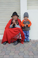Youth and Age. Banos, Ecuador