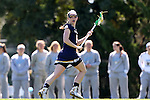 03 April 2016: Notre Dame's Alex Dalton. The University of North Carolina Tar Heels hosted the University of Notre Dame Fighting Irish in a 2016 NCAA Division I Women's Lacrosse match. Maryland won the game 14-8.
