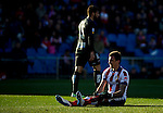 Atletico de Madrid's Croatian forward Mario Mandzukic during the Spanish league football match Atletico de Madrid vs Levante at the Vicente Calderon stadium in Madrid on Jaunary 3, 2015. Samuel de Roman / Photocall3000.