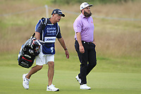 Andrew Johnston (ENG) on the 12th during Round 2 of the Aberdeen Standard Investments Scottish Open 2019 at The Renaissance Club, North Berwick, Scotland on Friday 12th July 2019.<br /> Picture:  Thos Caffrey / Golffile<br /> <br /> All photos usage must carry mandatory copyright credit (© Golffile | Thos Caffrey)