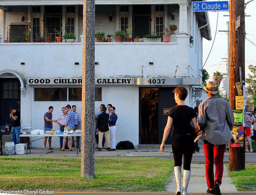 Bywater neighborhood and residents